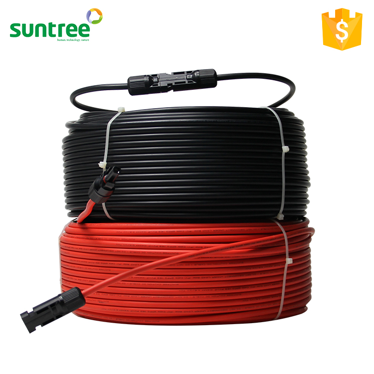 SAA TUV PV DC Twin Core Solar Cable 1.5mm2 2.5mm2 4mm2 6mm2 10mm2