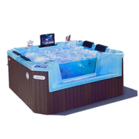 Above ground swimming pool / outdoor bathtub/ freestanding spa tub