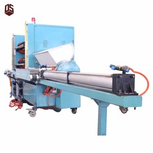 Automatic plastic film rotary die cutting and slitting machine