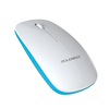 high quality cheap mouse 2.4ghz wireless slim ergonomic mouse with multi color