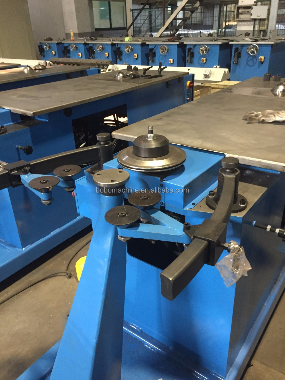 Hydraulic Elbow Gorelocker Lock Forming Machine, View