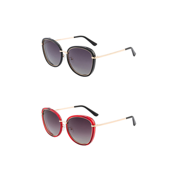 New fashion metal high quality UV400 sun glasses women