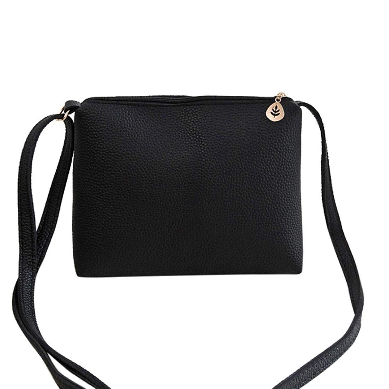 Fashion Women Lichee Pattern Crossbody Bag Shoulder Bag Coin Bag Phone Bag Change Pouch Key Holder Faionny