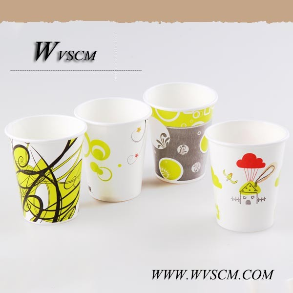 Wholesale Eco-Friendly Any Color Printed Hot Drink Paper Cup