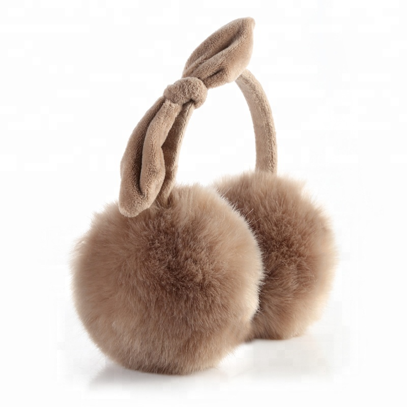 Quote I Am A Fashionable Model Winter Earmuffs Ear Warmers Faux Fur Foldable Plush Outdoor Gift
