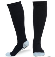 wholesale high quality nylon fashion mens sport compression socks in stock