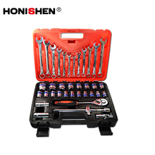 37pcs Cr-V Car Repairing Tool Socket Wrench Sets