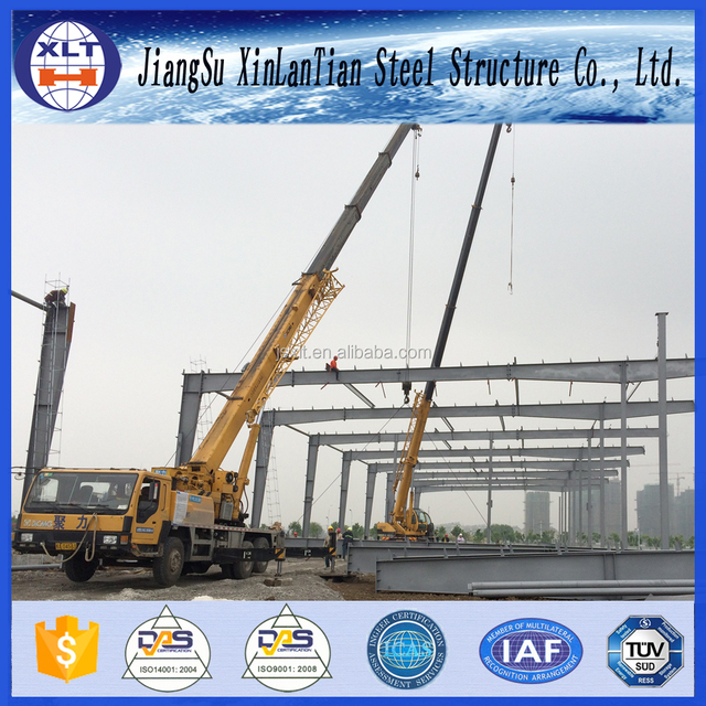 Low cost steel poultry shed steel structure construction