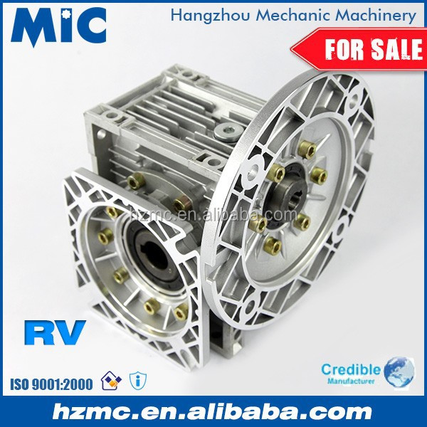 90 Degree RV Type Worm Drive Transmission Gearbox for Motor