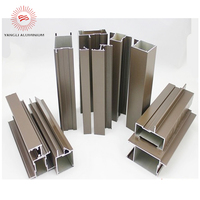 Winter must Window and door aluminium frame extrusion anodized bronze making machine