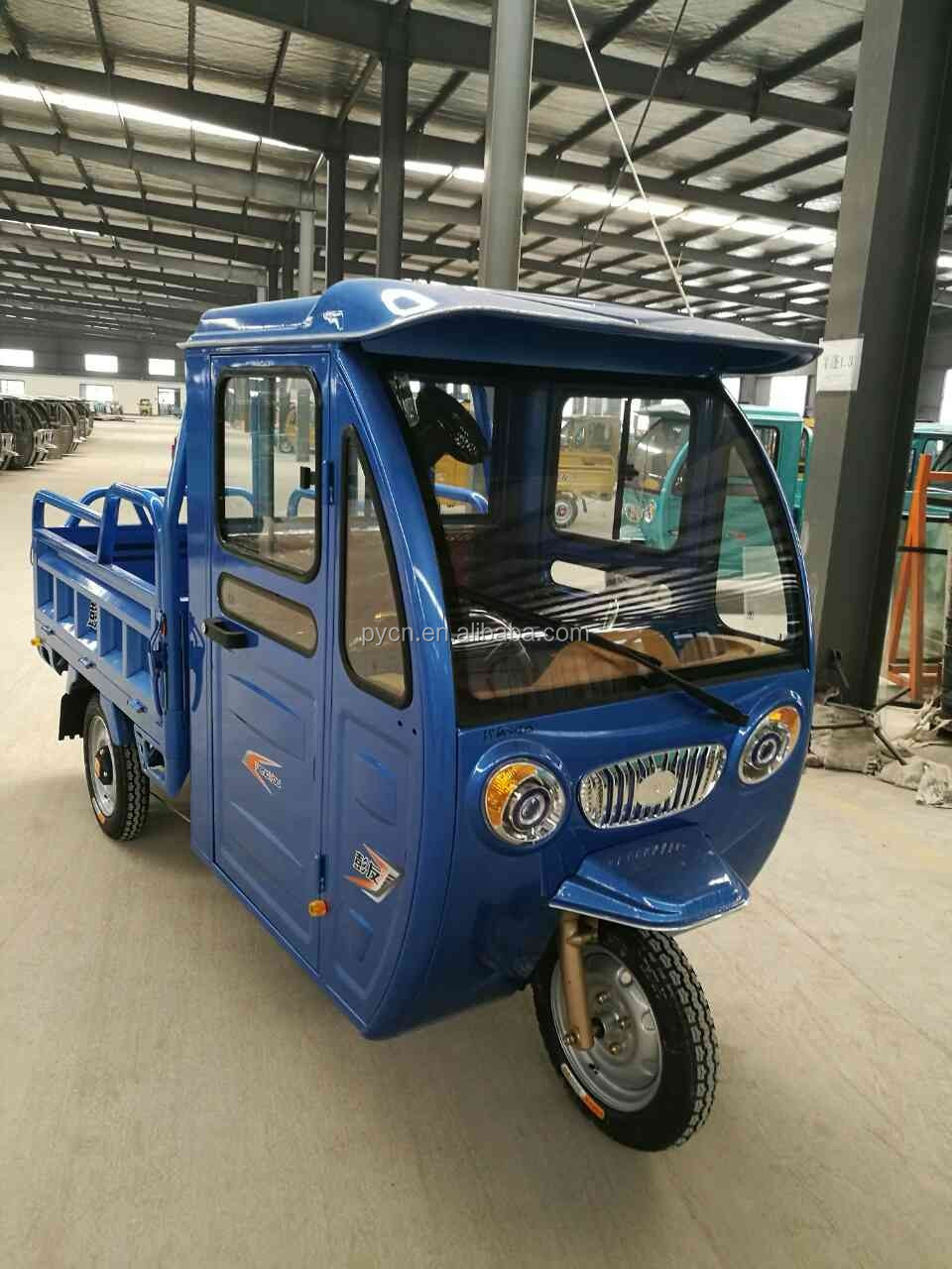 Open Electric Tricycle With Passenger Seat Tuk Tukrickshaw
