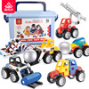 XST DIY 36pcs/set Educational Bricks 3D Magnetic Building Blocks Toys Car Magnetic Ball Toys For Kids
