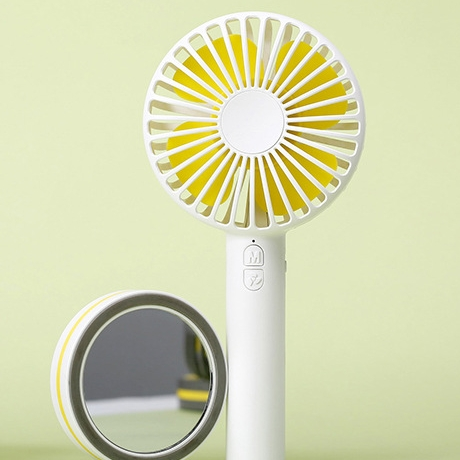 3 settings 5W portable mini rechargeable folding fan for travel