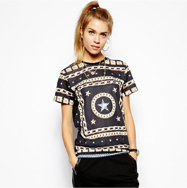 American Tween Girls Fashion: Summer European Style Teenage Girls Fashion Hippie Punk