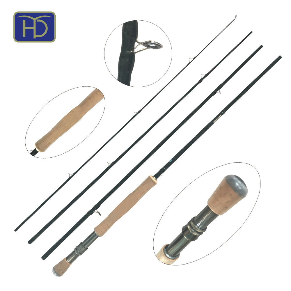High quality cork handle 24T carbon sage fly fishing rod
