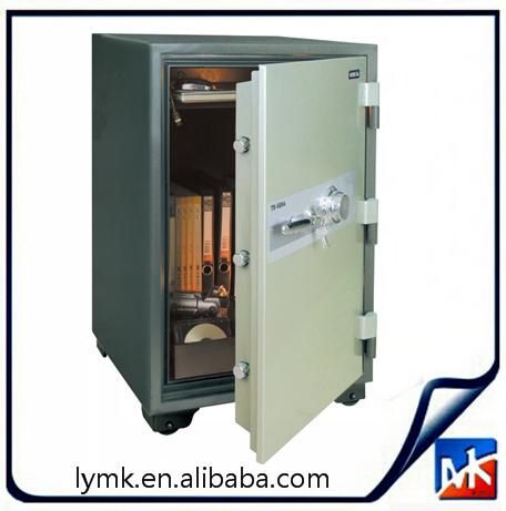 middle sized fireproof safe box and vault,,Provided by the MK company