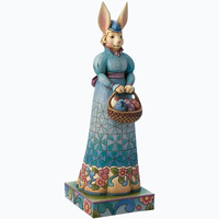 Unique Easter Decorations Standed Mrs Rabbit Holding A Easter Baskets