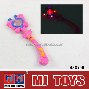 BO musical magic wand toy with light