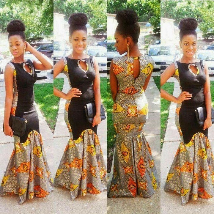 classic wax dashiki clothes african dress designs for