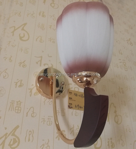 guzhen factory direct sales decorative wooden wall lamp,Chandelier wall light (HZ-117/1W)