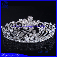 Fashion Cheap Diamond Pageant Crowns And Tiaras