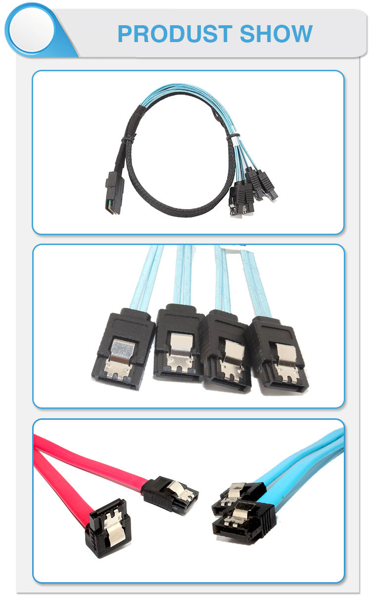 LVDS LCD Cable CATA 18 PIN SATA Cable