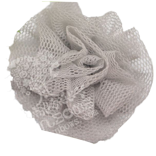 1.6inch Solid Pure Net Girls Hair Clips Accessories