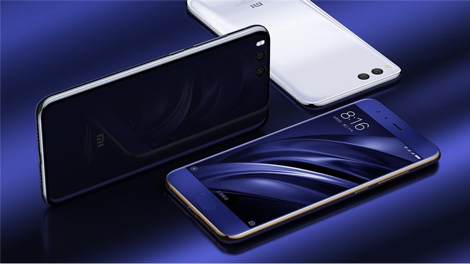 New phones Original Xiaomi mi 6 Smartphone Snapdragon 835 Octa Core 6GB RAM 64GB ROM Mobile Phone
