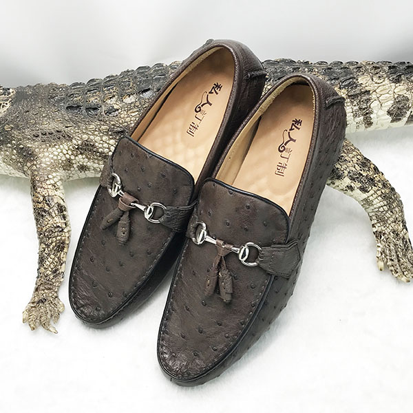MOQ 1 handmade PCS crocodile men shoes leather Classic fashion C1rCvx