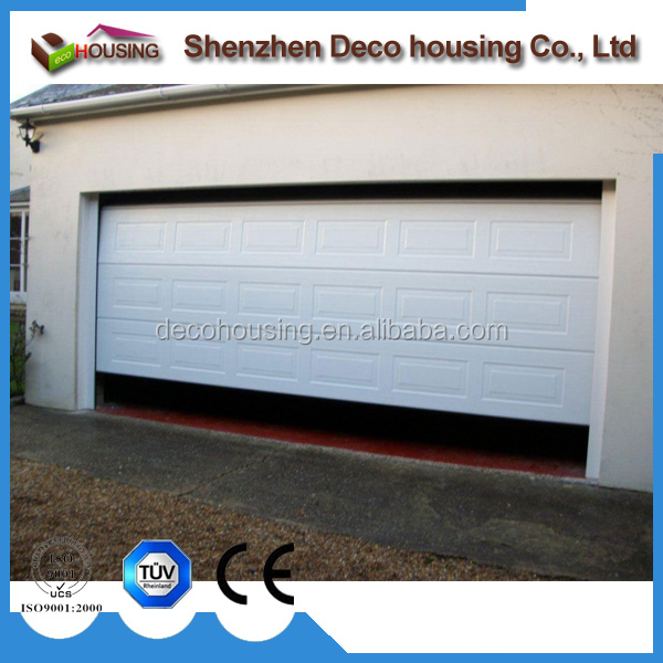 9x8 galvanized steel electric motor sectional garage door prices
