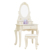 D1702 craft cosmetics desk home decoration white makeup vanity table mirrored dressing table dresser