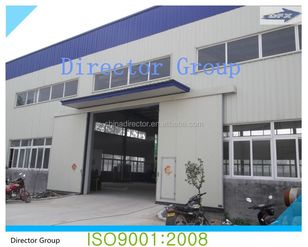 qing dao dfx brand prefab steel structure building and aircraft hangar and villa