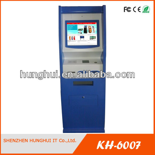 Bill Payment Machine With Cold Stell ATM Cover