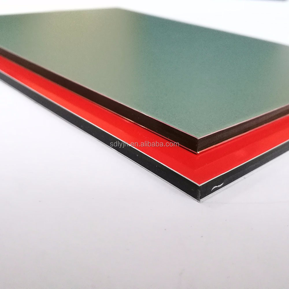 super cheap factory red cherry Aluminum composite panel