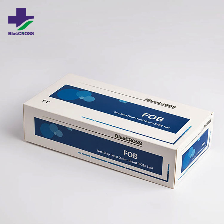 Bluecross Diagnostic Kit Fecal Occult Blood (FOB) Rapid Test Kit