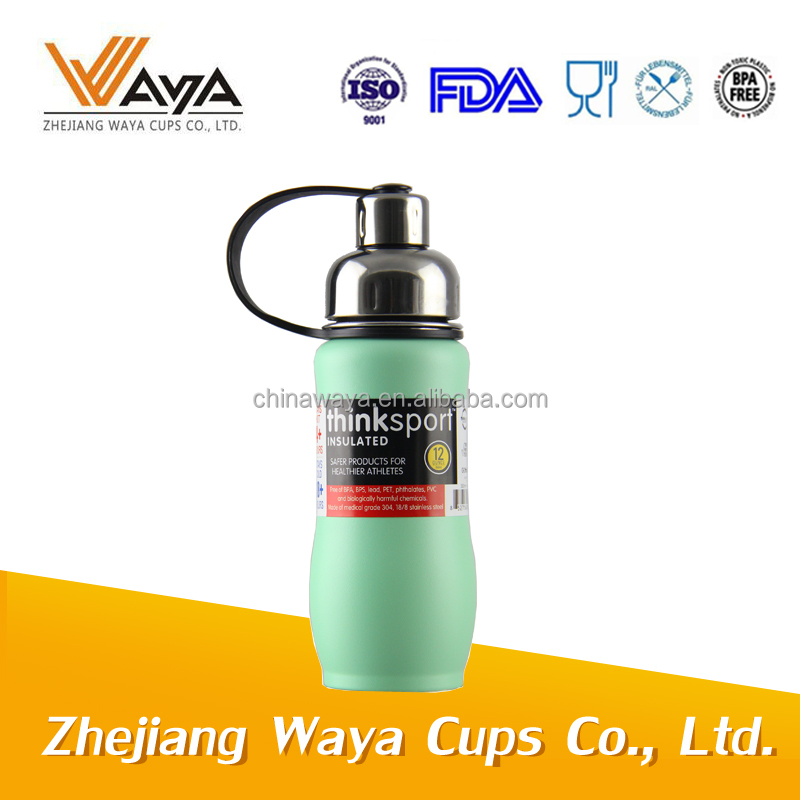 500ML Stainless steel sports bottle double wall with strainer