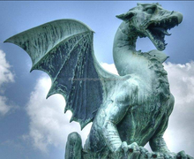 resin dragon statue,large dragon statues