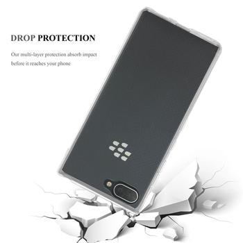 Slim Clear Soft TPU Case Flexible Cover Mobile Phone Case For BlackBerry Key 2 Lite