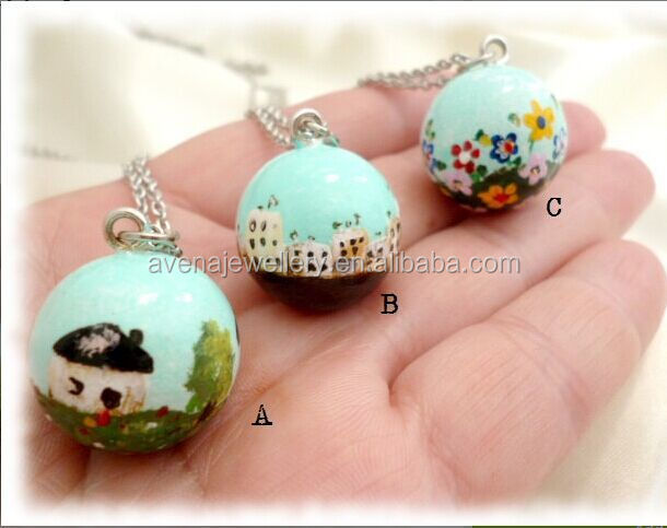High quality china bola ball necklace new harmony bola bell mexican high quality china bola ball necklace new harmony bola bell mexican bola ball pendant for women aloadofball Choice Image