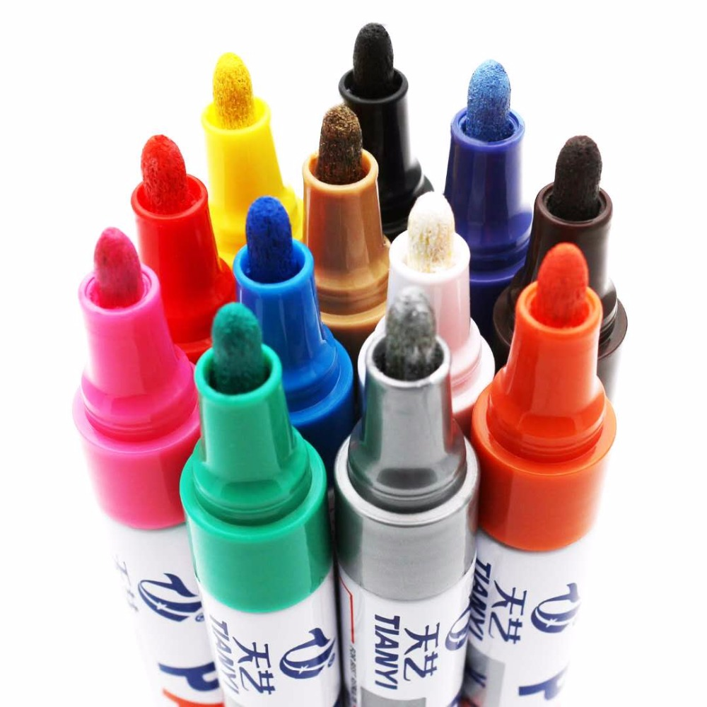 Wholesale paint pen markers,Whiteboard ink refillable dry markers,Permanent ceramic marker pen
