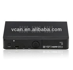 dvb-t2 conax digital receiver with CA system support mpeg2-4 hd 1080p home  use / VCAN0711