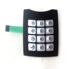 Assembly Waterproof Membrane Keypad 3*4 Matrix Keypad