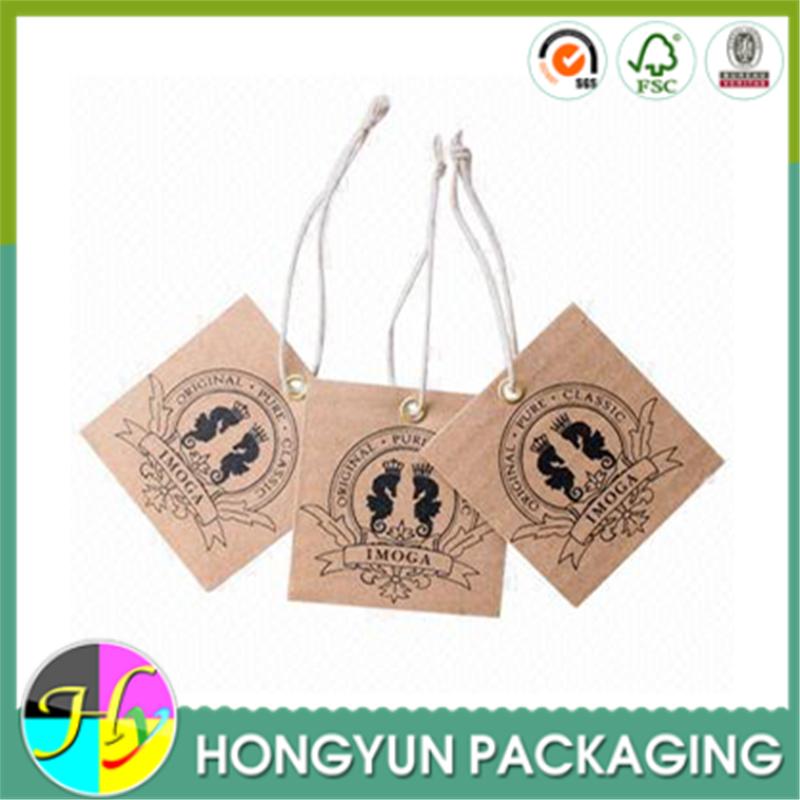 2015 Customiz Garment Printed Paper Hang Tag,Swing Tag With ...