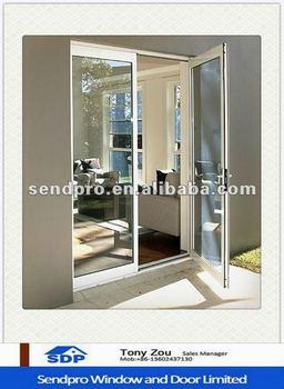 Commercial building exterior double panel french door - Commercial aluminum exterior doors ...