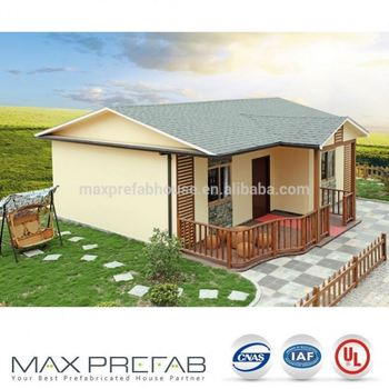 Prefabricated Luxury Low Cost Prefab Homes For Zambia