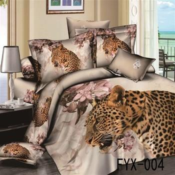 Cotton Fabric Animals Fur Comforter Ed Bed Sheet