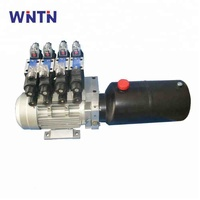 China manufacturer AC 380v 220v 3HP 3500psi small electric hydraulic power pack hydraulic motor