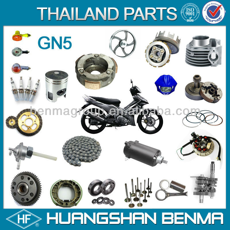 motorcycle spare parts thailand