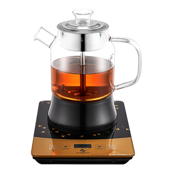 Unique Products 2019 Home Appliances Electric Automatic And Manual Steam Heating Glass Tea Maker Machine