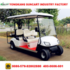 cheap electric golf carts for sale,4000W golf buggy with rear seater can be folded